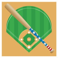 热门 : Baseball bat against the baseball field