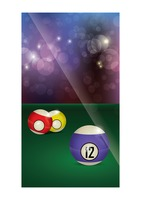 Billiards wallpaper for mobile phone