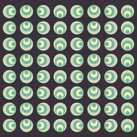 Circles pattern background