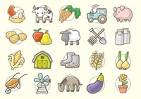 Collection of agriculture elements