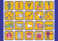 Collection of agriculture icons