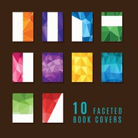 Collection of faceted book covers