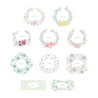 热门 : Collection of floral designs