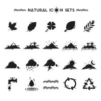 Collection of natural icons