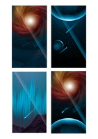 Collection of outer space wallpaper for mobile phone
