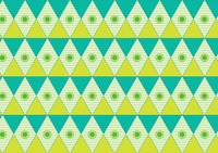 Colorful seamless triangle pattern