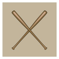 热门 : Crossed baseball bats