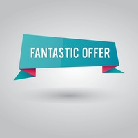 Fantastic offer banner