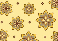 Flower on cream background