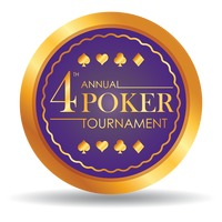Fourth annual poker tournament chip