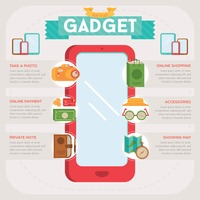 Gadget infographic