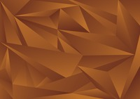 Geometrical patterns on brown background