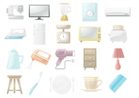 Home appliances and objects