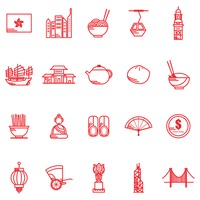 Hong kong general icons