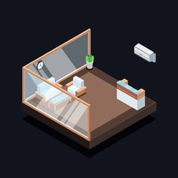 Isometric reception