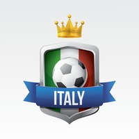 Italy flag with football