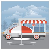 热门 : Mobile food van