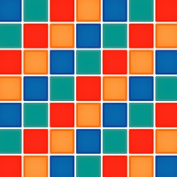Multicolor checkered background