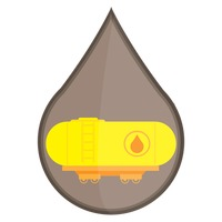 热门 : Oil tanker on flat train