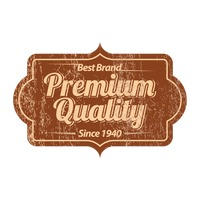Premium quality product label design
