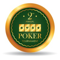 Second annual poker tournament chip