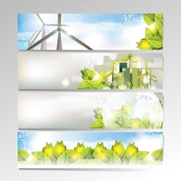 Set of banner designs