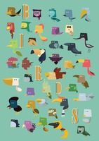 Set of birds icons