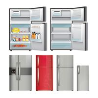 Set of refrigerators