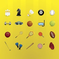 Sports equipment set