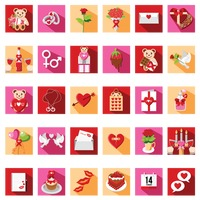 Valentine's day collection sets