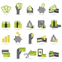 Various money related images