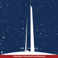 Washington monument and memorial
