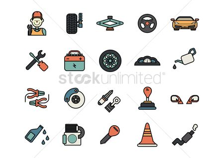 火花 : A collection of automobile icons