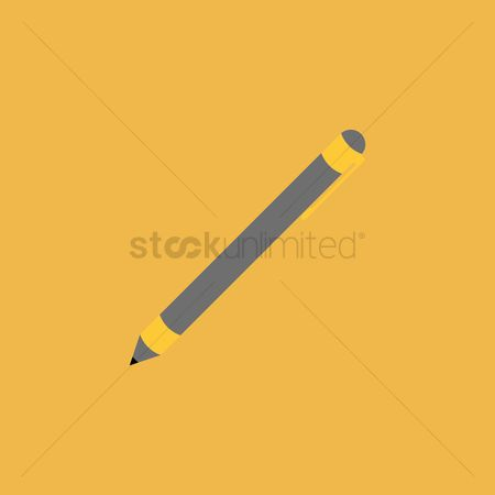 学校 : A mechanical pencil