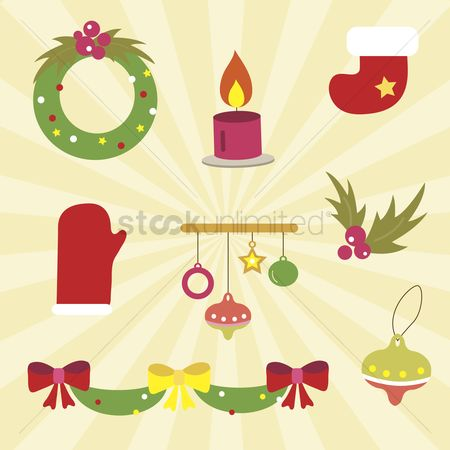 庆典 : A set of christmas icons