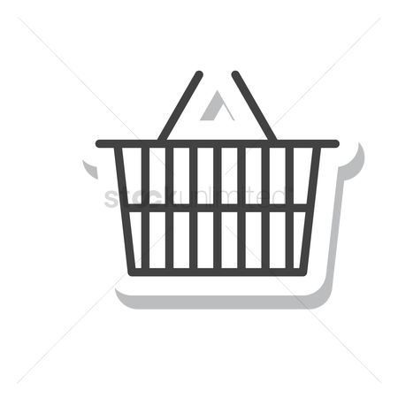 处理 : A shopping basket