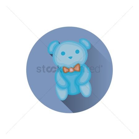 动物 : A teddy bear soft toy
