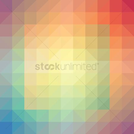 平方 : Abstract block background