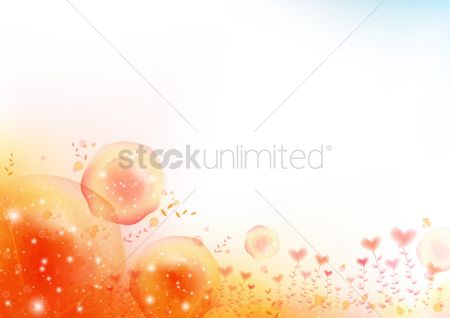 心脏 : Abstract heart background