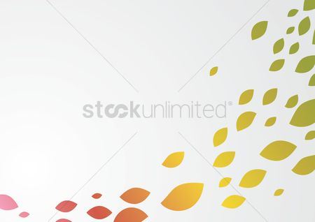 运动 : Abstract leaf background