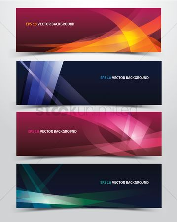 搜藏 : Abstract vector backgrounds