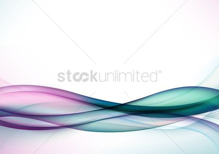 波 : Abstract wave background