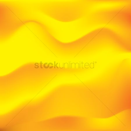 波 : Abstract yellow background