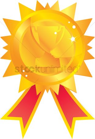 学校 : Award ribbon