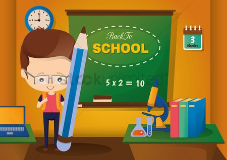 学校 : Back to school concept