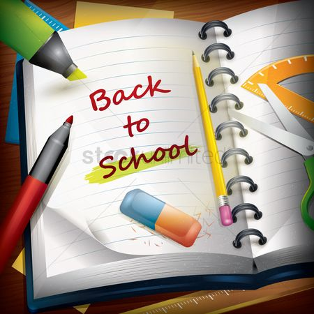 平方 : Back to school wallpaper