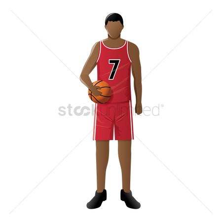 运动员 : Basketball player