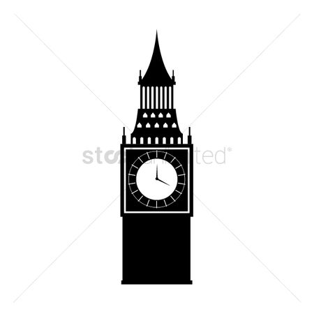 房屋地标 : Big ben tower