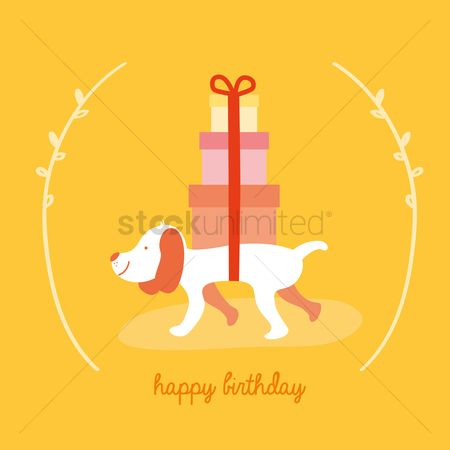 请帖 : Birthday greeting card