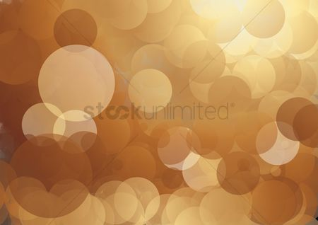 水 : Bubble on brown background